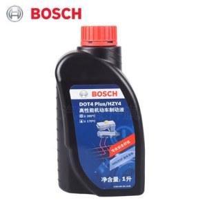 博世刹车油升级版制动液离合器油通用DOT4 PLUS 1L装博世汽车配件